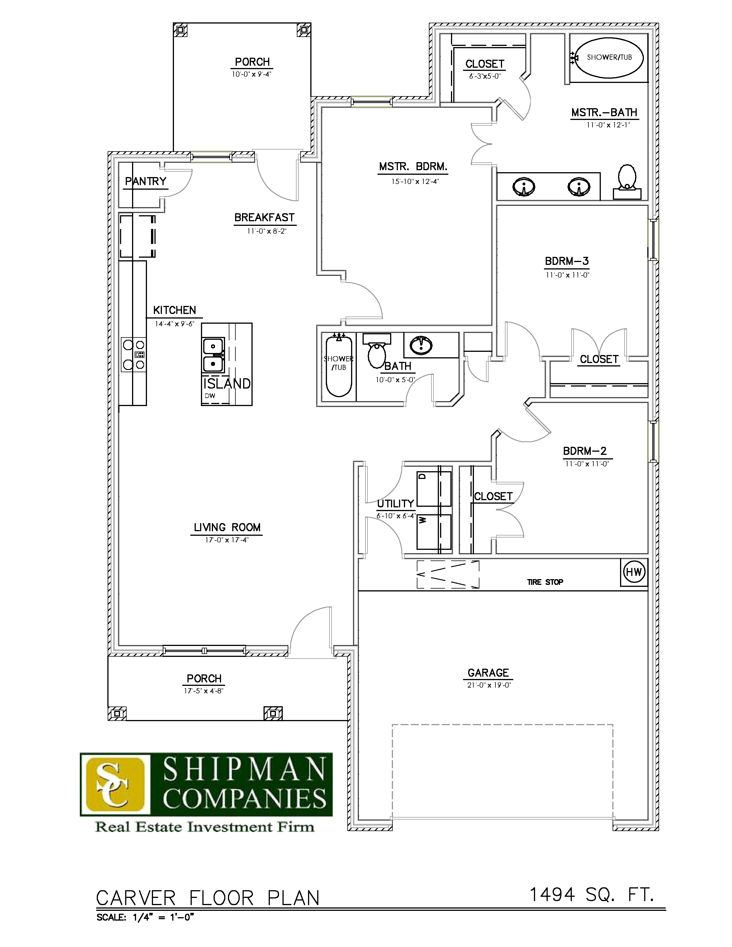 McPherson Village Carver Plan